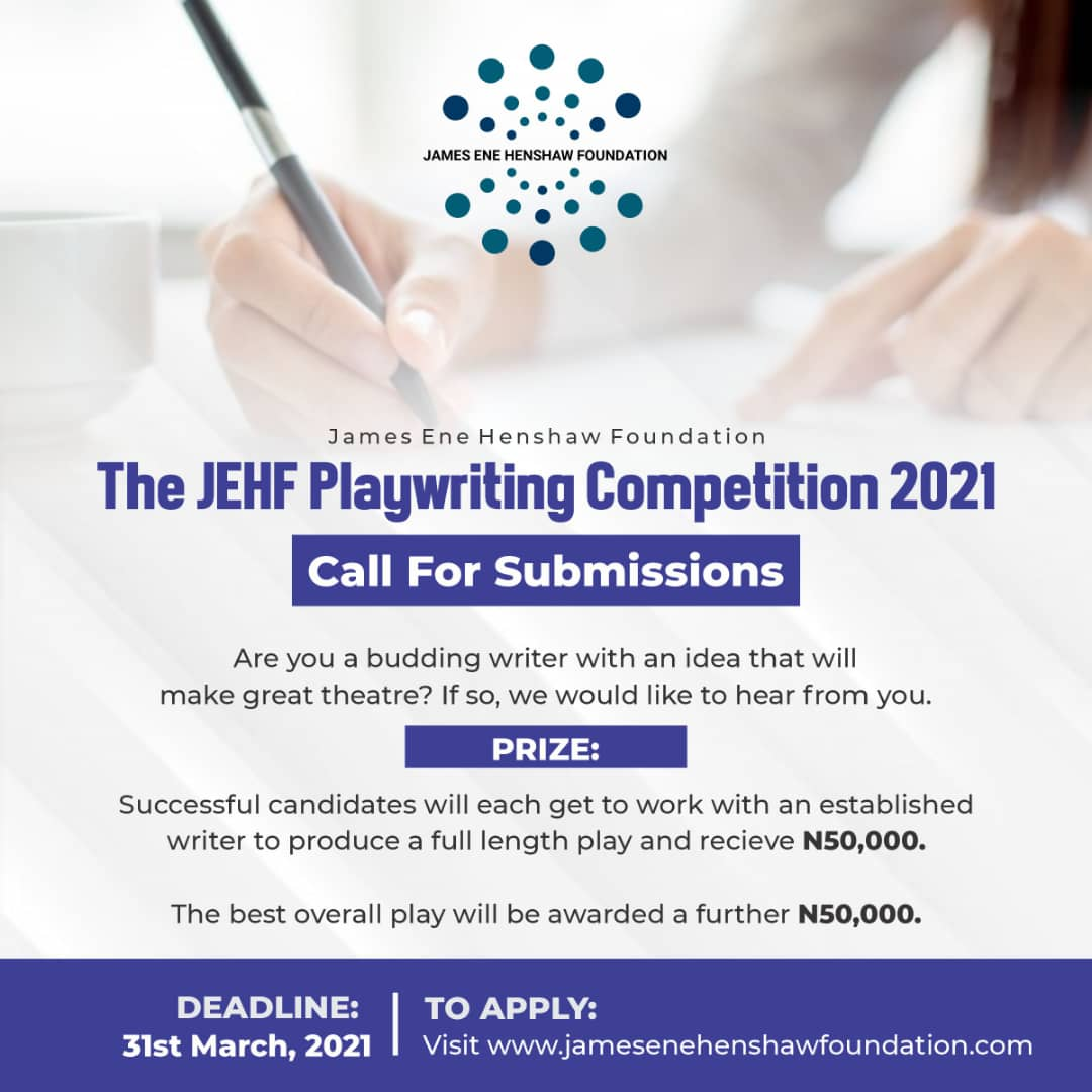James Ene Henshaw Playwriting Competition