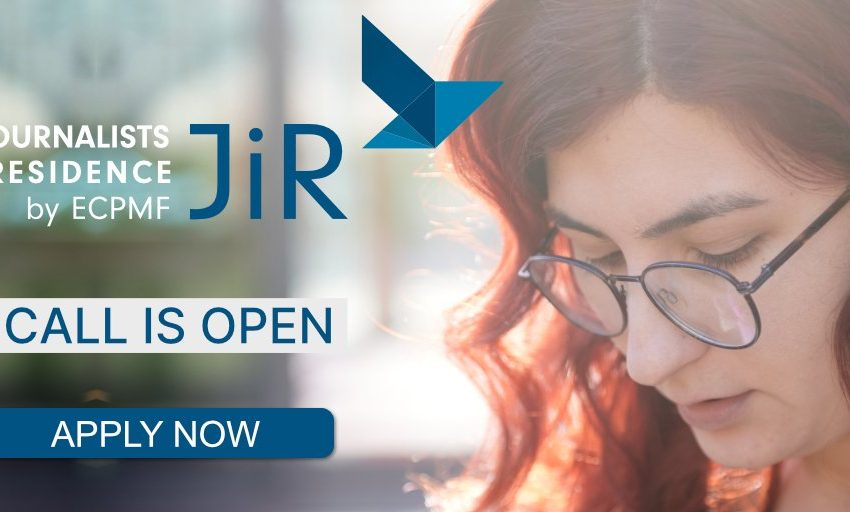 The ECPMF's Journalists-in-Residence (JiR) Programme 2021 for European Journalists.